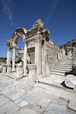 Hadrian's Temple, Ephesus Stock Images