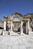 Hadrian's Temple, Ephesus. Hadrian's Temple in Ephesus Selcuk Izmir, Turkey Royalty Free Stock Photos