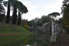 Hadrian's Villa - The Canopus Canal, Tivoli, Italy Royalty Free Stock Images
