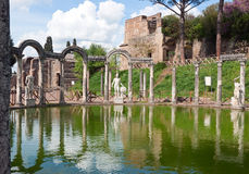 hadrian s villa för canopus Royaltyfri Bild