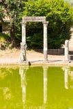 Hadrian's Villa, the Roman Emperor's 'Villa,Tivoli, outside of Rome, Italy, Europe Royalty Free Stock Photography