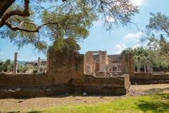 Hadrian's Villa, the Roman Emperor's 'Villa,Tivoli, outside of Rome, Italy, Europe Stock Photos