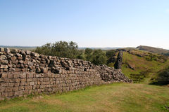 Hadrians Wall. Stock Photography