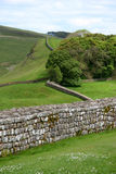 Hadrian's Wall. In Northern England Royalty Free Stock Images