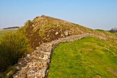 Hadrian's wall Royalty Free Stock Photo