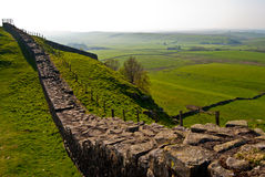 Hadrian's wall Royalty Free Stock Photography