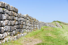 Hadrian's wall Royalty Free Stock Photos