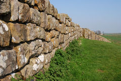 Hadrian's wall. A part of the ancient Hadrian's wall in northern England Royalty Free Stock Photography
