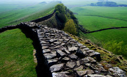 Hadrian's wall Royalty Free Stock Images