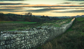 Hadrian`s Wall Royalty Free Stock Images