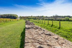 Hadrian's Wall Stock Photo