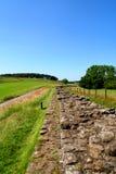 Hadrian's Wall. Stock Photos
