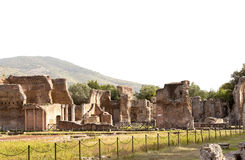 Hadrian villa, adriana is a large roman archaeological complex Royalty Free Stock Images