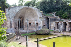 The hadrian villa, adriana is a large roman archaeological complex Stock Image