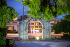 Hadrian& x27;s Gate, Athens, Greece Royalty Free Stock Photography