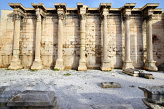 Hadrianbibliotheek Royalty-vrije Stock Fotografie
