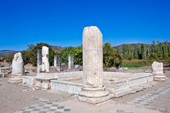 Hadrianic Baths in Aphrodisias Royalty Free Stock Photography