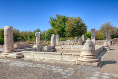 Hadrianic Baths in Aphrodisias Stock Image