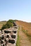 Hadrians墙壁, 库存图片