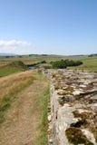 Hadrians墙壁, 免版税库存图片