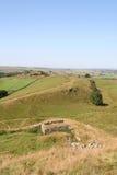 Hadrians墙壁 库存照片