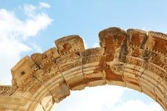 Hadrians寺庙 免版税库存图片