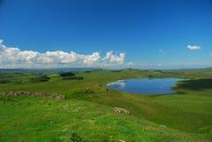 Hadrians ścienna wieś Obrazy Royalty Free