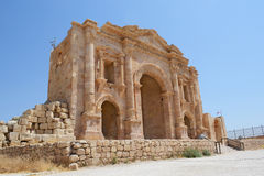 Hadrians Arch, Jordan Royalty Free Stock Photos