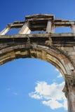 Hadrians Bogen, Athen (Griechenland) Stockfoto