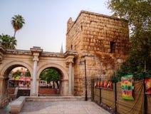 Hadrian's Gate, Antalya, Turkey Stock Images