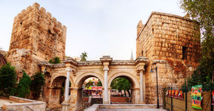 Hadrian's Gate, Antalya, Turkey Royalty Free Stock Images
