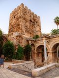 Hadrian's Gate, Antalya, Turkey Stock Photo