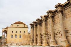Hadrian's Library Royalty Free Stock Photo