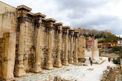 Hadrian's Library Royalty Free Stock Image