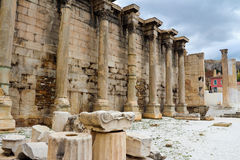 Hadrian's Library Stock Images
