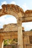 Hadrians tempel Royaltyfri Bild