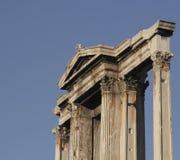 Hadrians Torbogen in Athen, Griechenland lizenzfreie stockbilder