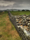 Hadrians wall Stock Image