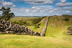 Hadrians Wall near Walltown Royalty Free Stock Photo