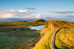 Hadrians Wall Royalty Free Stock Images