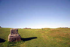 Hadrian's Wall Scenery Stock Images