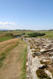 Hadrians Wall, Royalty Free Stock Image