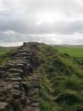 Hadrians Wand Stockbild