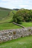 Hadrians Wand Lizenzfreie Stockbilder