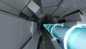 Hadron collider Στοκ Φωτογραφία