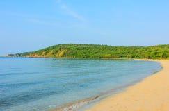 Hadyao beach in sattahip Thailand Stock Photos