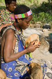 Hadzabe kvinna Royaltyfri Bild