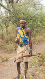Hadzabe Tribesman Hunter Stock Photo
