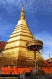Hae del cho del prathat de Wat, provincia Tailandia de PHARE Imagen de archivo