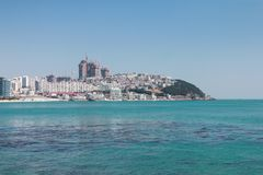 Hae hun dae Beach Busan south korea Royalty Free Stock Images